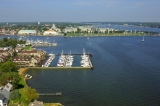 aerial imagery of Annapolis Maryland Capital Yacht Club Annapolis MD US