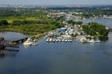 aerial imagery of Anchor Bay East Marina Dundalk MD US