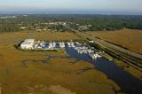 aerial imagery of Amelia Island Yacht Basin Amelia Island FL US