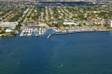 aerial imagery of Lake Park Harbor Marina Lake Park FL US