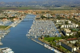 aerial imagery of Anacapa Isle Marina Oxnard CA US