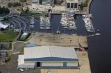 aerial imagery of Ocean Yacht Marina Portsmouth VA US