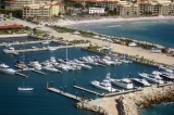 aerial imagery of Marina El Cid Cancun Cancun, Puerto Morelos Mexico MX