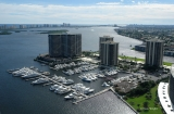 aerial imagery of Old Port Cove Marina North Palm Beach FL US