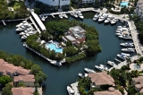 aerial imagery of Williams Island Marina Aventura FL US