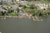 aerial imagery of Riverside Marina of Dunnville Dunnville ON CA