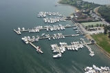 aerial imagery of Montauk Yacht Club Resort & Marina Montauk NY US