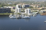 aerial imagery of Old Port Cove Marina North North Palm Beach FL US