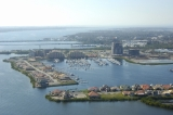 aerial imagery of Riviera Dunes Marina Palmetto FL US