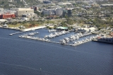 aerial imagery of Legacy Harbour Marina Fort Myers FL US