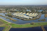 aerial imagery of Village West Marina Stockton CA US