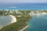 aerial imagery of Guana Marina Village Great Guana Cay AB BS