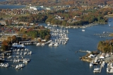 aerial imagery of Spring Cove Marina - Solomons Solomons MD US