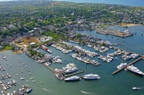 aerial imagery of Nantucket Boat Basin Nantucket MA US