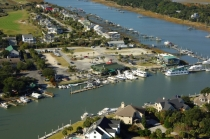 aerial imagery of Isle of Palms Marina Isle Of Palms SC US