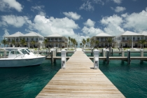 aerial imagery of Cape Eleuthera Resort and Marina, the best of the Bahamas marina Rock Sound EL BS