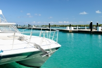 aerial imagery of Blue Haven Resort & Marina  Leeward Providenciales Turks and Caicos  TC