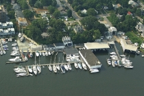 aerial imagery of South Annapolis Yacht Centre Annapolis MD US