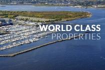 aerial imagery of Marinas International, a full service marina management company Dallas TX US