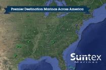 aerial imagery of Suntex Marinas Dallas TX US