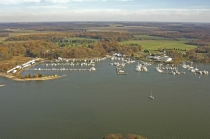 aerial imagery of Mears Great Oak Landing Chestertown MD US