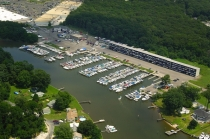 aerial imagery of Chesapeake Yachting Center Inc Baltimore MD US