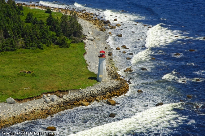 Liverpool (NS) Canada  City new picture : Coffin Island Lighthouse, Liverpool, Nova Scotia, Canada