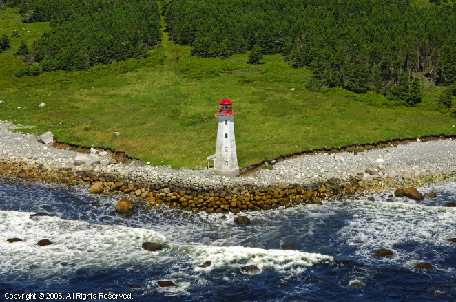 Liverpool (NS) Canada  City pictures : Coffin Island Lighthouse, Liverpool, Nova Scotia, Canada