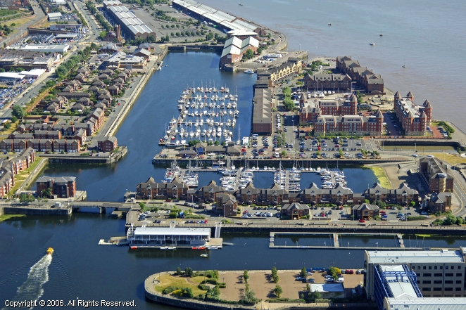 Liverpool United Kingdom  city images : Liverpool Marina in Merseyside GB, United Kingdom