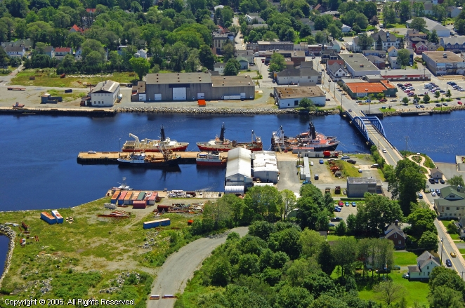 Liverpool (NS) Canada  City new picture : Mersey Seafoods Ltd in Liverpool, Nova Scotia, Canada