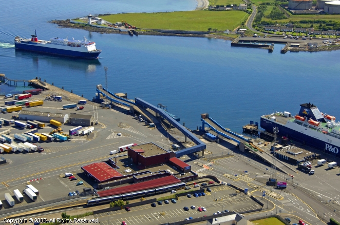 Larne United Kingdom  City pictures : Port of Larne Ferry, Larne, Northern Ireland, United Kingdom