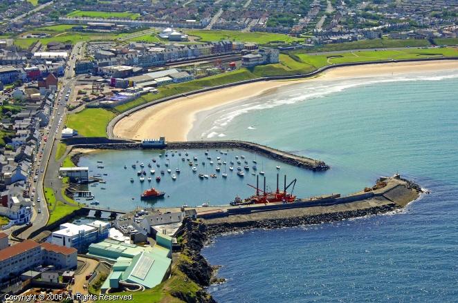 Portrush United Kingdom  city pictures gallery : Portrush Harbour in Portrush, Northern Ireland, United Kingdom