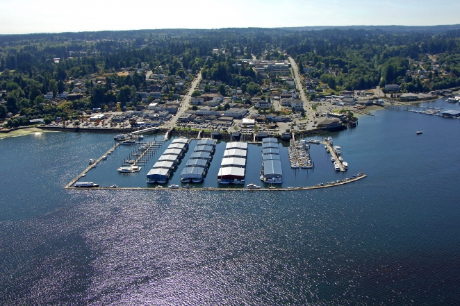 Port Orchard (WA) United States  city photo : Port Orchard Marina in Port Orchard, Washington, United States