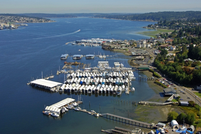 Port Orchard (WA) United States  City new picture : Port Orchard Railway Marina in Port Orchard, Washington, United States