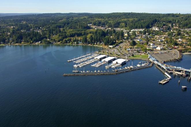 Port Of Kingston In Kingston Washington United States