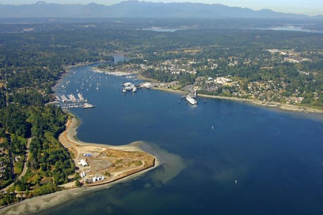Eagle Harbor Bainbridge Island Washington United States