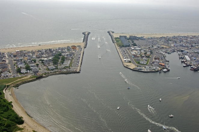 Manasquan River Inlet Manasquan New Jersey United States