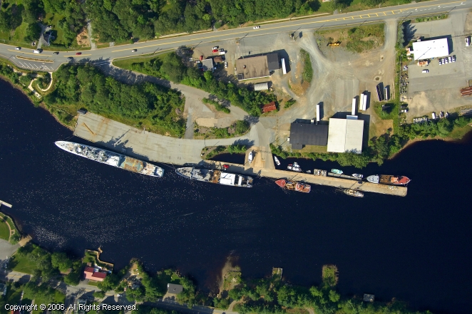 Bridgewater (NS) Canada  City new picture : Port of Bridgewater in Bridgewater, Nova Scotia, Canada