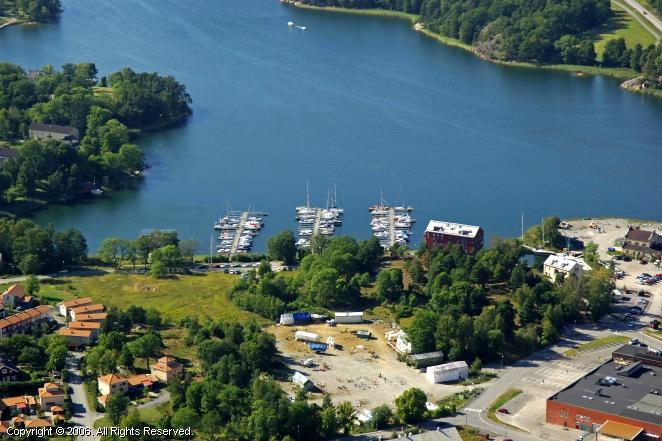 Farsta Sweden  City pictures : Farsta Yacht Harbour in Uppland, Sweden