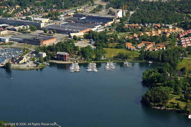 Farsta Sweden  city pictures gallery : Farsta Yacht Harbour in Uppland, Sweden