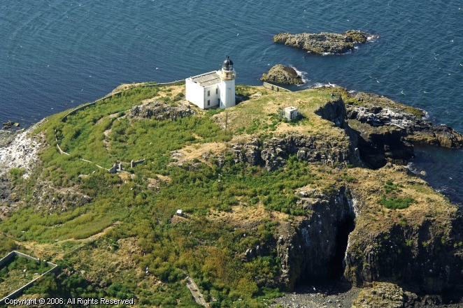 Fidra Island Lighthouse