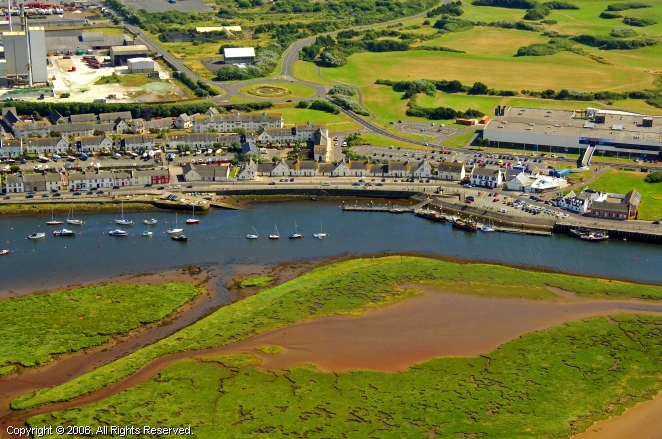 Irvine United Kingdom  city pictures gallery : Irvine Harbour in Irvine, Scotland, United Kingdom