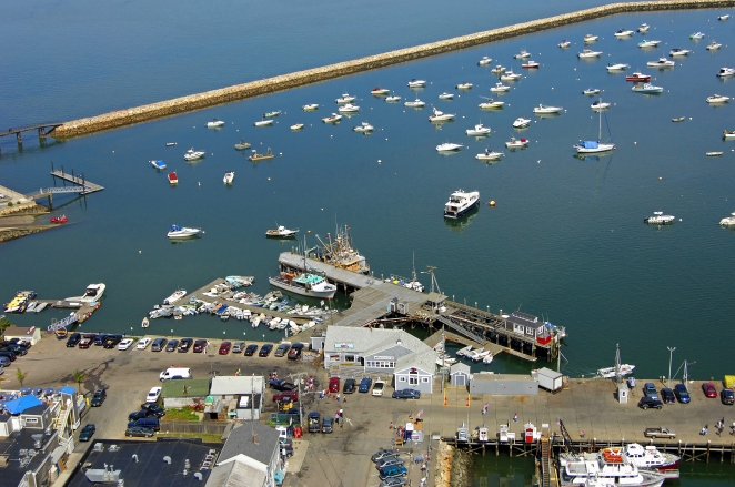 Plymouth Town Wharf In Plymouth Massachusetts United States