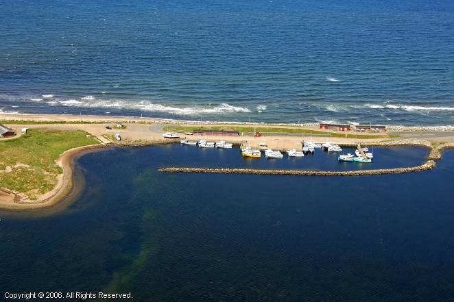 margaree harbour in margaree harbour  nova scotia  canada