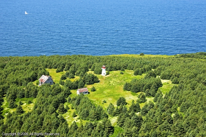 margaree island lighthouse  margaree forks  nova scotia