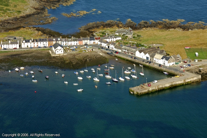 Isle Of Whithorn Harbour In Isle Of Whithorn Scotland