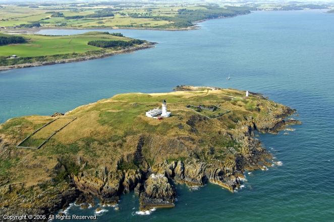 Little Ross Light Kirkcudbright Scotland United Kingdom