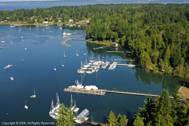 Port Madison Yacht Club In Bainbridge Island Washington