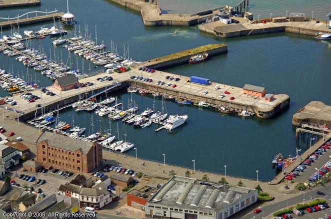 Whitehaven United Kingdom  City new picture : Queens Marina in Whitehaven, England, United Kingdom