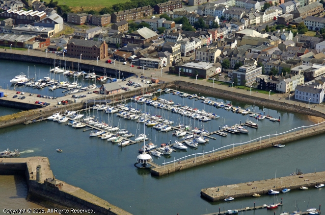 Whitehaven United Kingdom  city pictures gallery : Whitehaven Harbour in Cumbria, England, United Kingdom